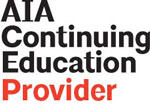 The SRCA is an American Institute of Architects approved provider for continuing education credits.