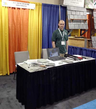Slate Roofing Contractors Association at NERCA 2013 Boston