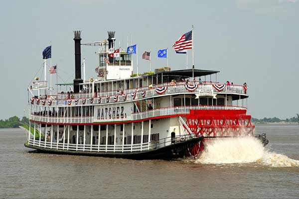 Natchez Steamboat Tour