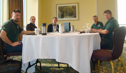 Slate Roofing Contractors Association Board Meeting February 2013