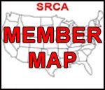 Map of SRCA member locations